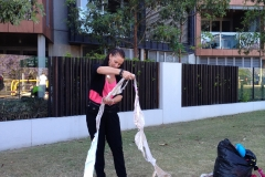 Worlds Longest Bra Chain First Attempt Counting Day (113)